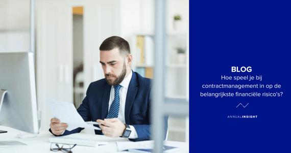 Hoe speel je bij contractmanagement in op de belangrijkste financiële risico's?