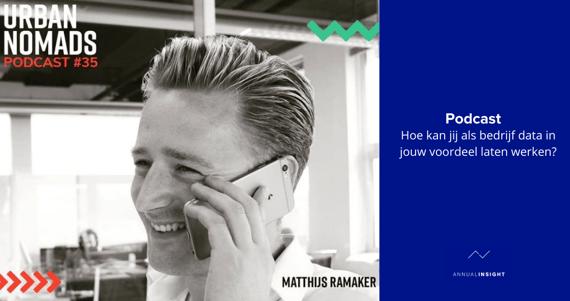 [Podcast] Hoe kan jij als bedrijf data in jouw voordeel laten werken?